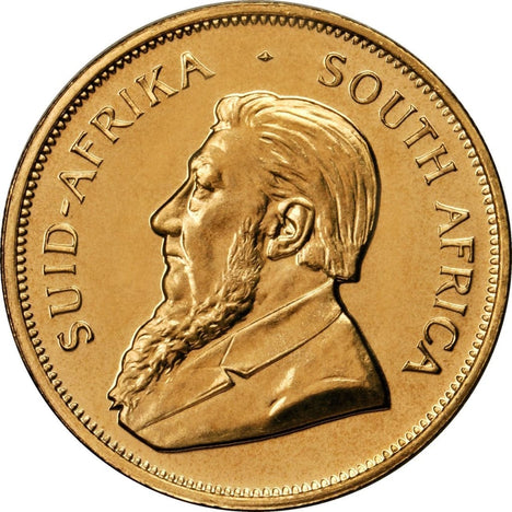 1 Oz Gold South African Krugerrand Random Date