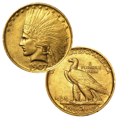 $10 Indian Head Eagle (1907-1933)
