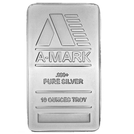 10 Ounce oz .999 Silver Bar - Dealers Choice