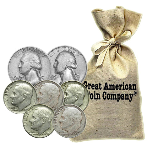 $1000 Face 90% Silver US Coins - Our Choice