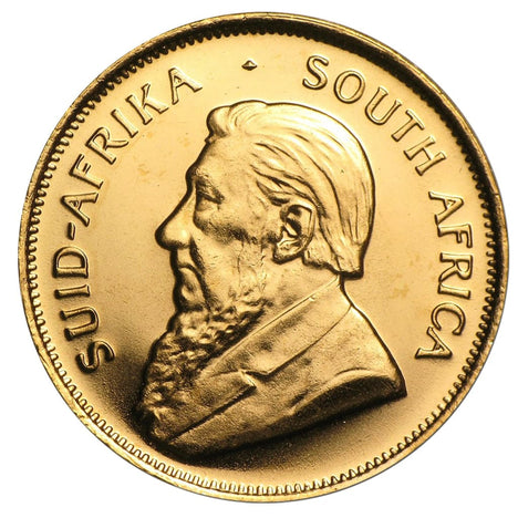 1/4 Oz South Africa Gold Krugerrand | Random Year