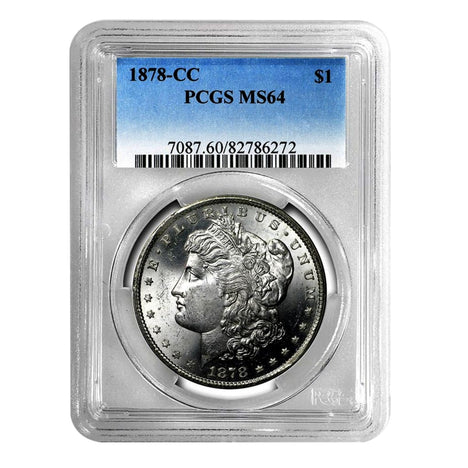 1878-CC Morgan Dollar MS64 PCGS