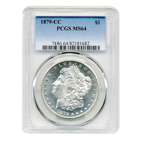 1879-CC Morgan Dollar MS64 PCGS