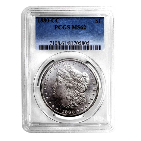 1880-CC Morgan Dollar MS62 PCGS