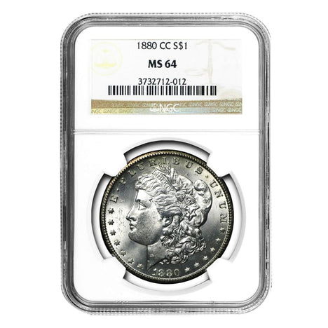 1880-CC Morgan Dollar MS64 NGC