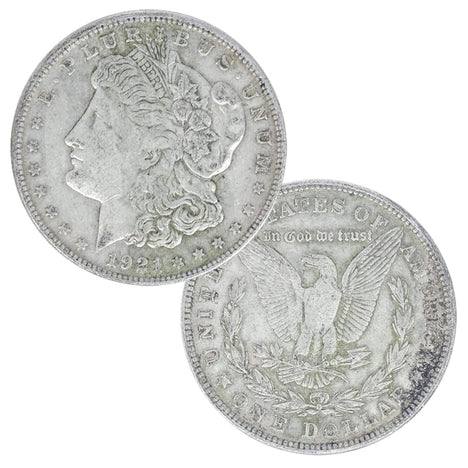 1921 - 90% Silver Morgan Dollar Cull Condition