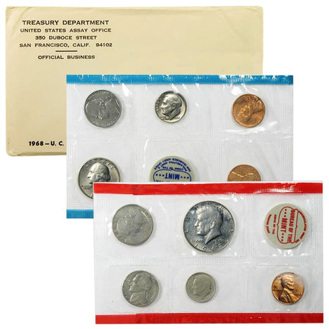 1968 US Mint Set