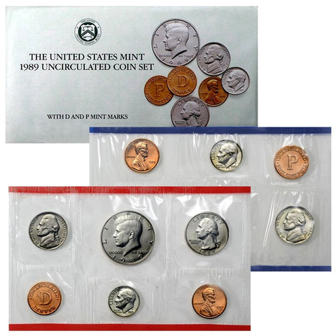 1977 P/&D Lincoln Cent Set Brilliant Uncirculated