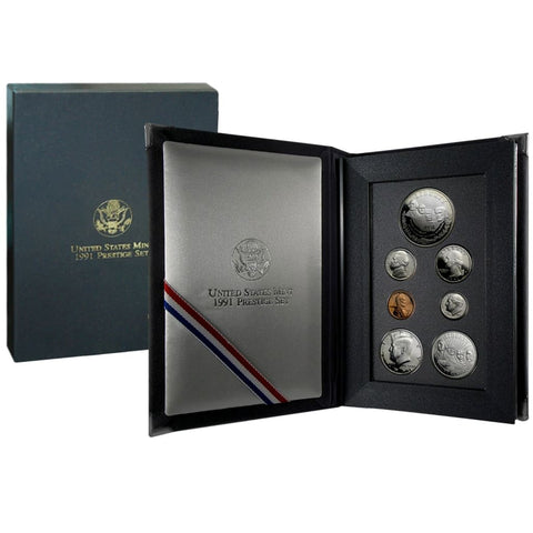 abaee489869f2 1991 US Mint Prestige Set – Great American Coin Company®