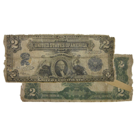$2 - 1899 Large Size Silver Certificate - Cull