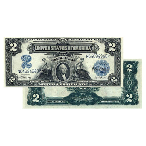 $2 - 1899 Large Size Silver Certificate - Uncirculated