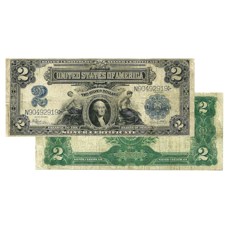 $2 - 1899 Large Size Silver Certificate - Very Fine