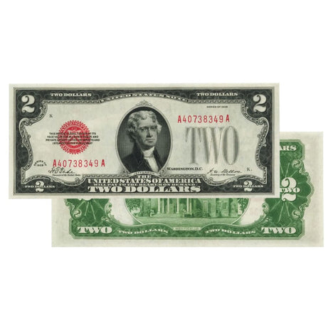 $2 - 1928 Red Seal FRN - Uncirculated