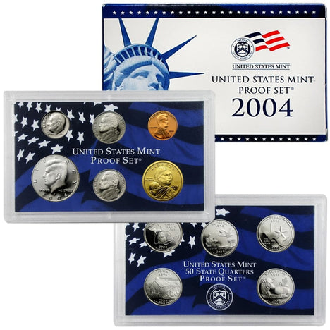 2004 Proof Set - 11 Coin Set