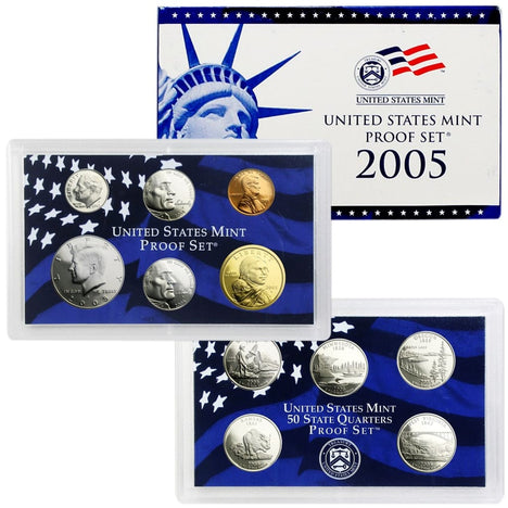 2005 Proof Set - 11 Coin Set