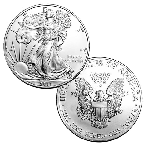 2011 $1 American Silver Eagle Brilliant Uncirculated