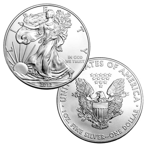 2012 $1 American Silver Eagle Brilliant Uncirculated