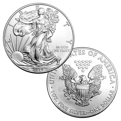 2014 $1 American Silver Eagle Brilliant Uncirculated