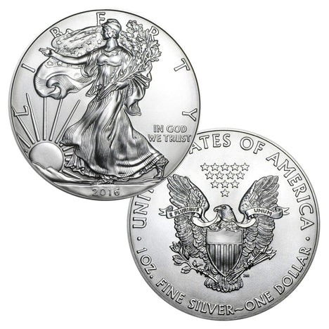 2016 $1 American Silver Eagle Brilliant Uncirculated