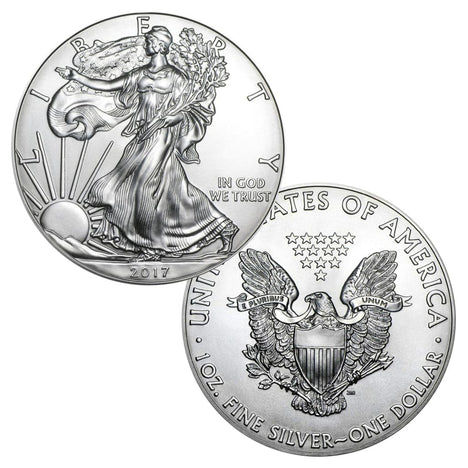 2017 $1 American Silver Eagle Brilliant Uncirculated