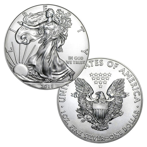 2018 $1 American Silver Eagle Brilliant Uncirculated