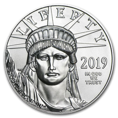 2019 $100 Platinum Eagle (1 Ounce) .9995 Pure $100 Brilliant Uncirculated