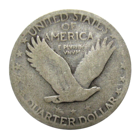 90/% Silver Standing Liberty Quarters Average Circulated