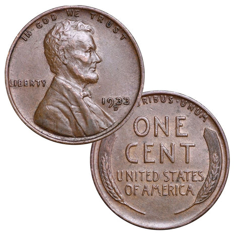 Circulated Wheat Cents from the 1930s (Individual Coins) (1930-1939)