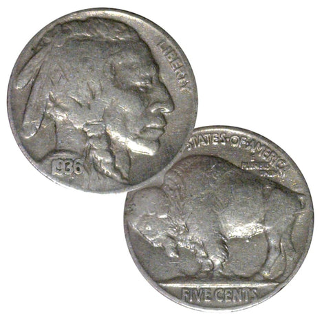 Full Date Buffalo Nickels 1913-1938 (Individual Coins)