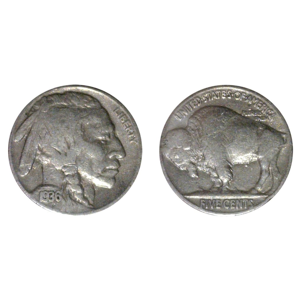 Full Date Buffalo Nickels 1913 1938 Individual Coins