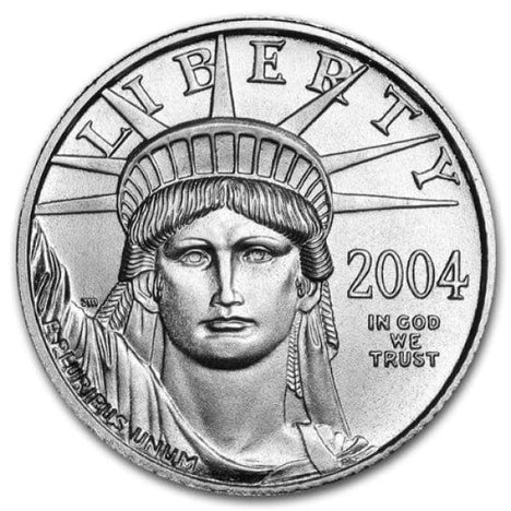 Platinum Eagle (1/10 Ounce) .999 Pure $10 Brilliant Uncirculated