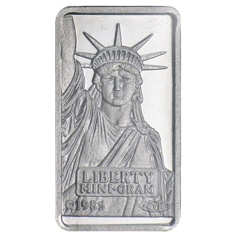 1 Gram .9995 Platinum Bar - Credit Suisse