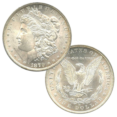 SALE!!! - Pre-1921 90% Silver Morgan Dollar (1878-1904) Brilliant Uncirculated