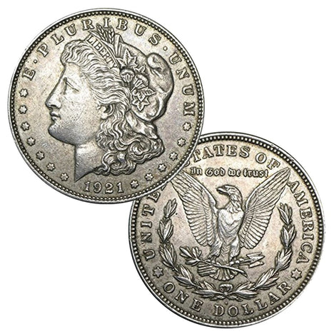 1921 - 90% Silver Morgan Dollar Circulated