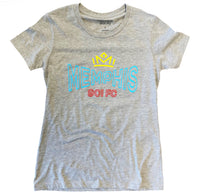 FC Lady's Crown /Mem 901 Gray Tee