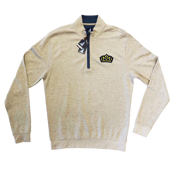 FC Men's Sully Oatmeal Quarter Zip
