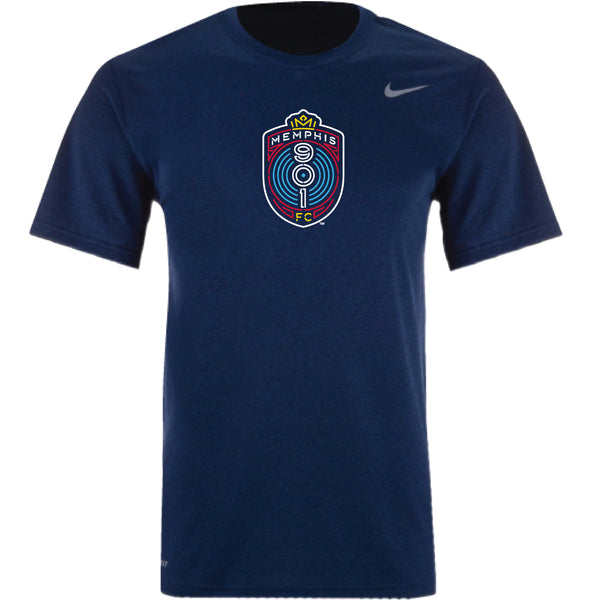 Memphis 901 FC Nike Dri Fit Short Sleeve Tee Crest (ONLINE ONLY)