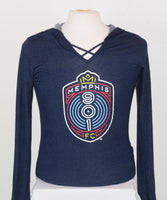 Women's Crest Hooded T-Shirt