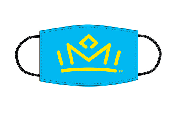 Face Cover Crown Blue