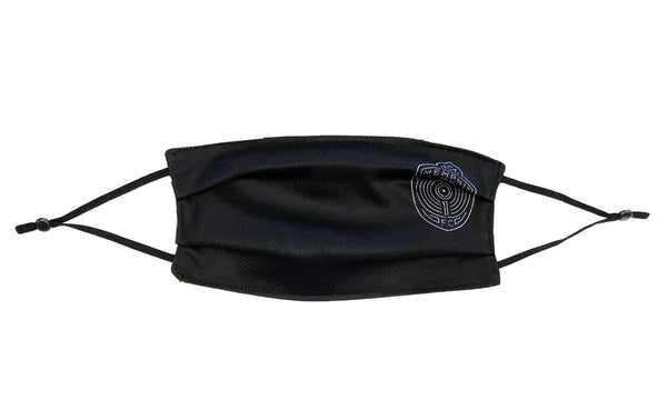 New! Face Cover Crest Black