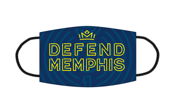 Face Cover Navy Defend Memphis