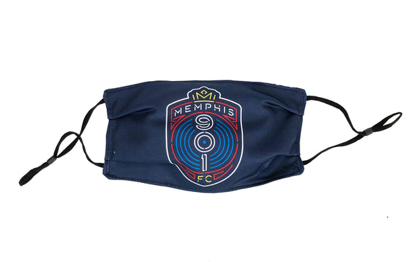 Face Cover Crest Navy