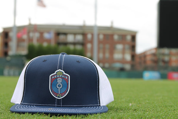 Memphis 901 FC Navy/White Trucker Flexfit®