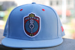 9FIFTY Powder Blue Snapback