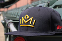 New Era 5950 Navy Crown Cap