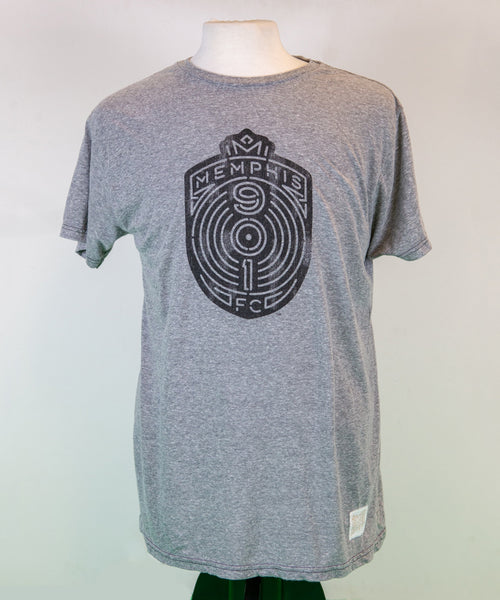 Grey Full Crest T-Shirt