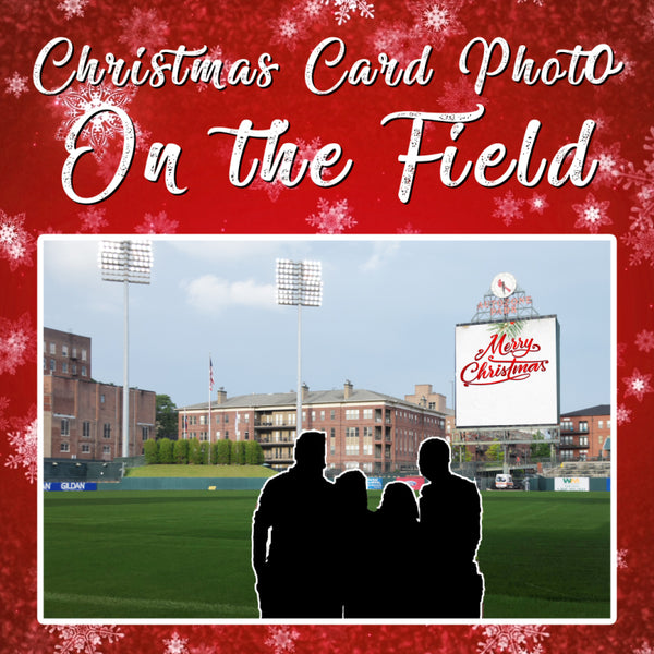 Christmas Card Photo on the Field