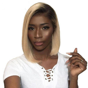 1B 613 Honey Blonde Lace Front Wigs With Baby Hair Demyhair
