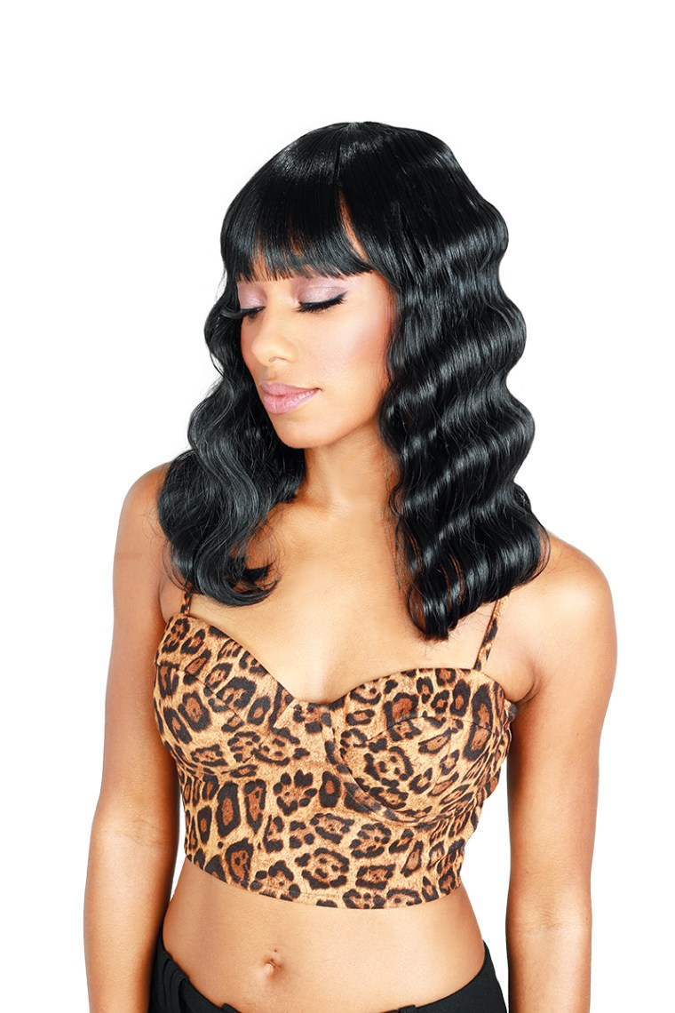Zury Sis Lace Closure Wig DR-H BANG CRIMP 14″ Wig