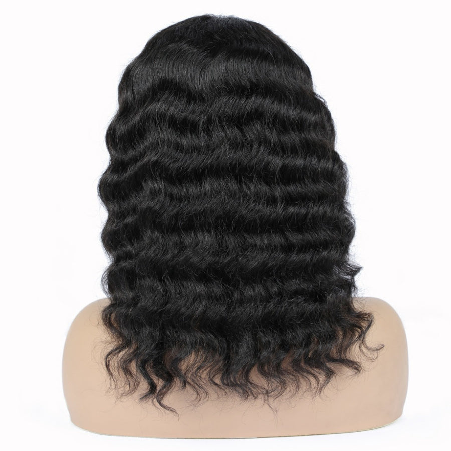 Deep Wave Lace Closure Wig